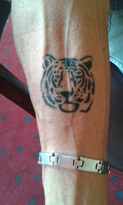 Airbrush Tattoo Tiger